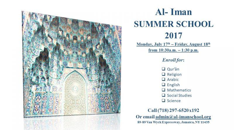 Al-Iman Summer School
